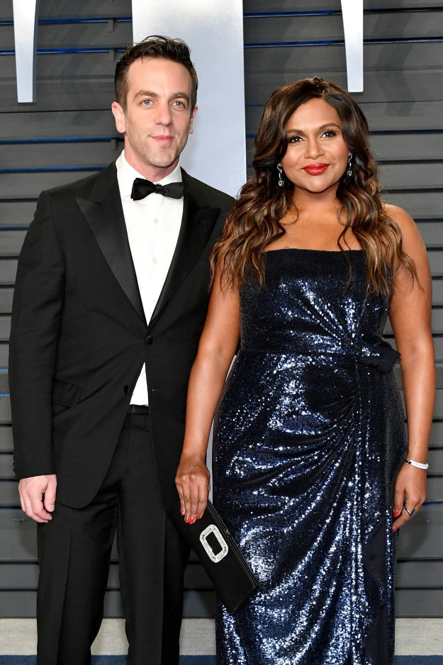 Last night, soup snakes Mindy Kaling and BJ Novak attended the Vanity Fair Oscars party together and I haven't been able to think about a single thing since...