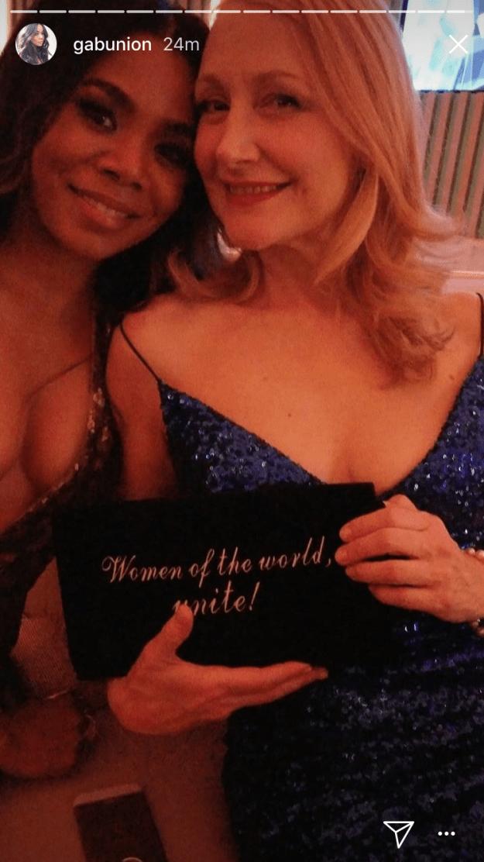 Celebrated wonderful women with Patricia Clarkson: