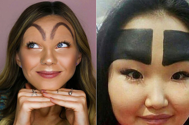 13 Eyebrow Trends From 2017 That Need To Go In The Trash