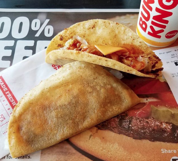 Ohio – Tacos from Burger King