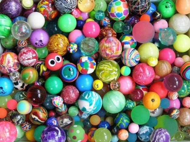 Bouncy balls: