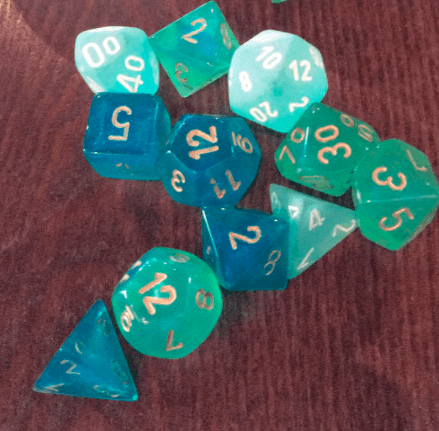Many sided die: