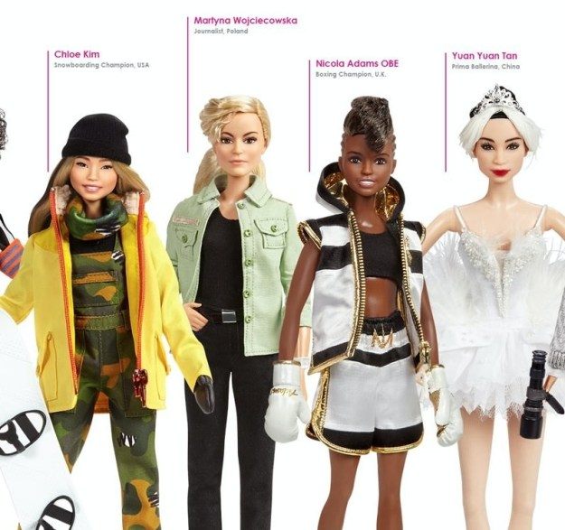 But, for now, we can all wait in anticipation for these history-making dolls! There isn't a specific release day announced just yet, but they will be sold in stores across the nation.