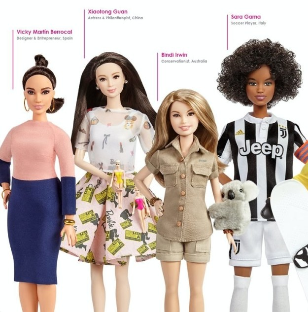 "Mattel also has plans to add to the ""Inspiring Women"" series, adding more role models in the future."