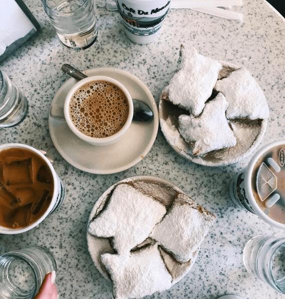 Louisiana: Café du Monde in New Orleans