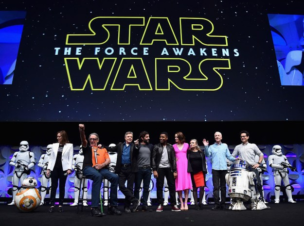 As the head of Lucasfilm, Kennedy can now add all the Star Wars films since The Force Awakens to her producing belt, too.