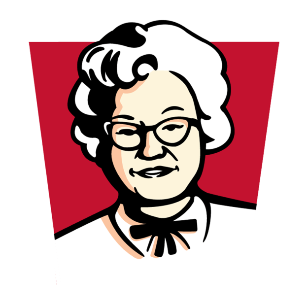 To celebrate International Women's Day on Thursday, KFC Malaysia decided to make Colonel Sanders' wife its new logo.