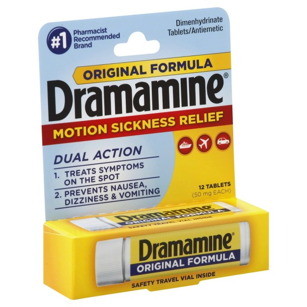Dramamine.