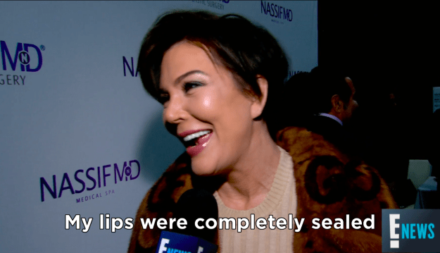 Well, Kris Jenner has now revealed how she managed to keep the news to herself for ten whole months.