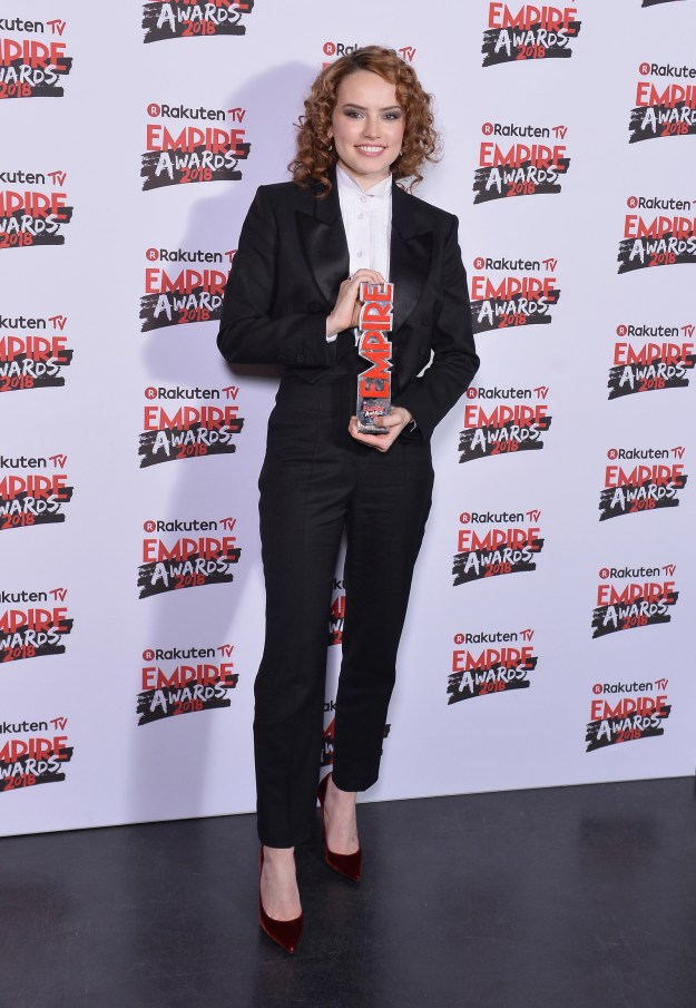 And then AGAIN at the 2018 Empire Awards.