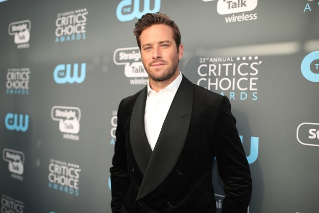 Armie Hammer's great-grandfather was an oil tycoon.