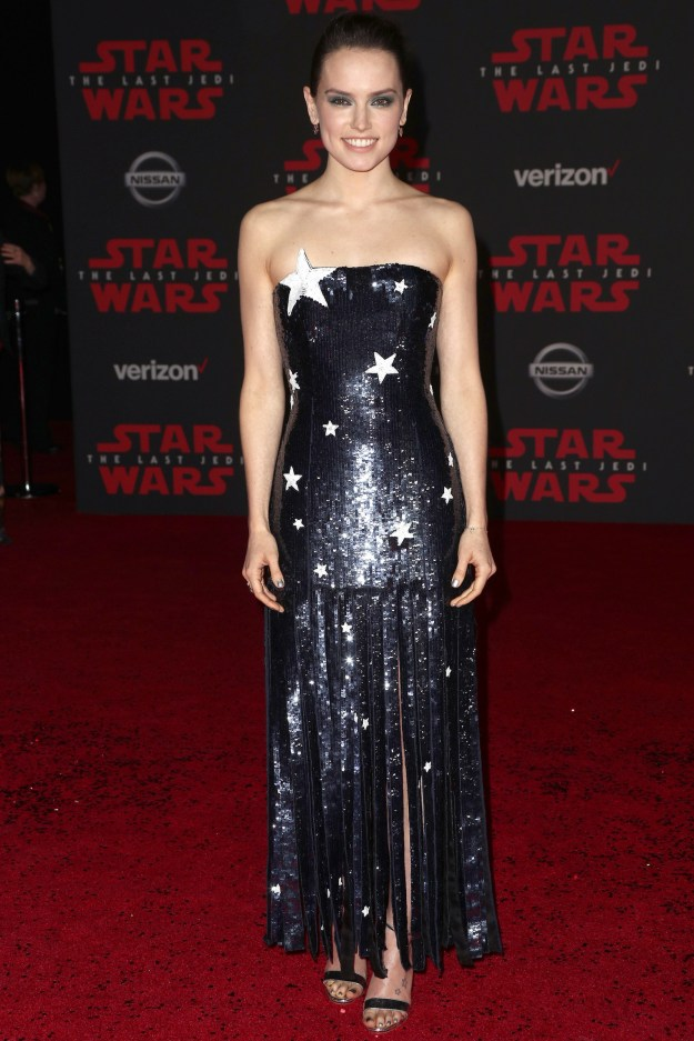 That time she wore actual stars to a Star Wars premiere.