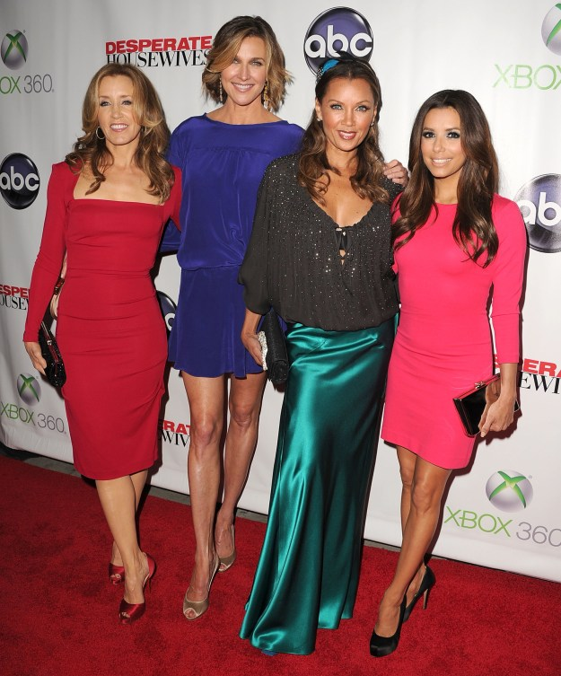 In 2012, Desperate Housewives aired its final episode and hosted a wrap party, where it appeared that tensions were still high – neither Teri or Marcia showed up.