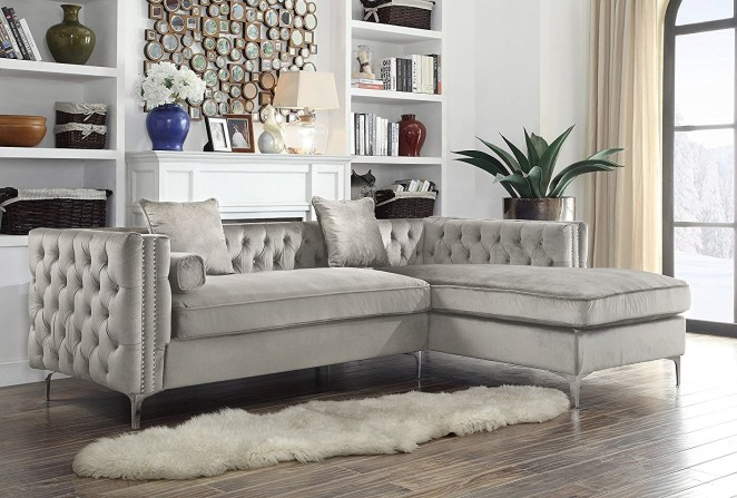 """Promising review: """"It's been one full year since I bought this couch and I still adore it. It has completely kept its form, and is so comfortable and firm. I literally slept on her last night. Highly recommended."""" —Catherine Get it from Amazon for $1,198.99 (originally $2,387, available in seven colors)."""