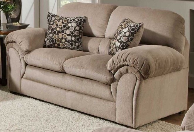 "Promising review: ""Both the sofa and loveseat are great. I bought them together and am very happy with them. The color and construction are very nice. The contracted movers who delivered the furniture were on time and positioned the furniture as instructed. The throw pillows (two each) were a nice touch."" —Daryl L. HansonGet it from Amazon for $424.99 (originally $574.99)."