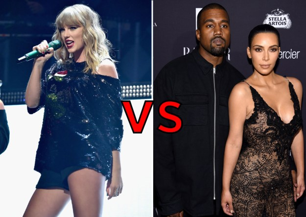 Taylor Swift vs. Kimye