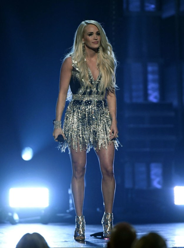 """Last Sunday she performed her new single """"Cry Pretty"""" at the ACM Awards and I think we can all agree she looked flawless."""