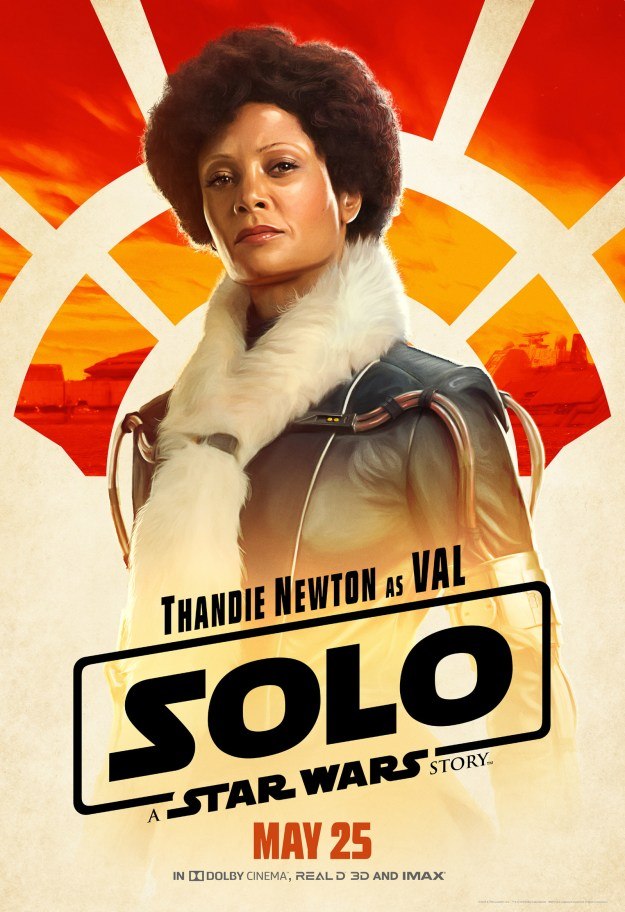 Val (Thandie Newton) is clearly going to be everyone's new fav, and her scarf situation is iconic.