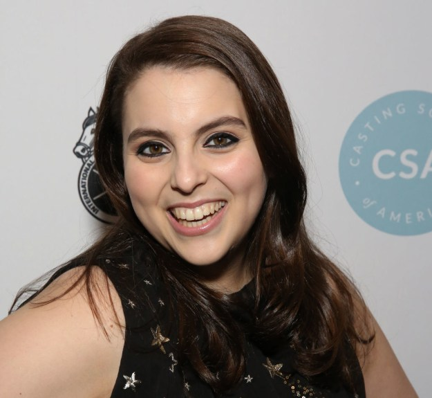 And this is Beanie Feldstein, she was in Lady Bird, Neighbors 2, and Hello, Dolly! on Broadway.