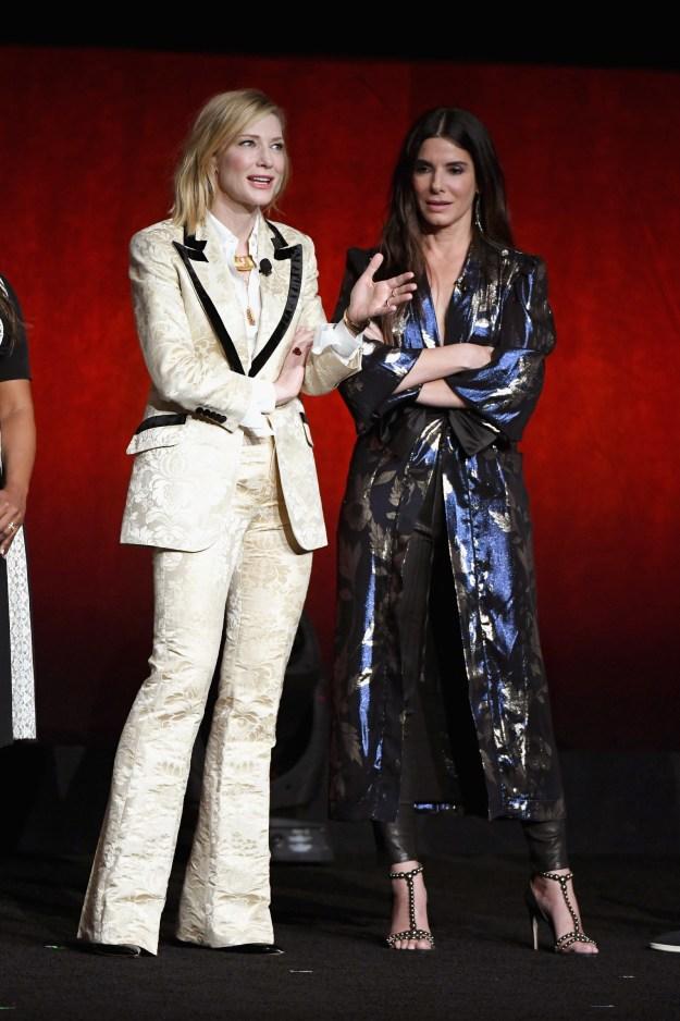 Here's Cate Blanchett and Sandra Bullock looking fUckIng beautiful.
