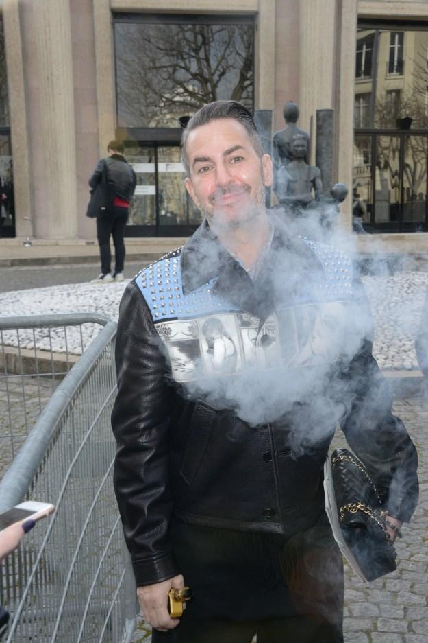 Marc Jacobs, a vaperista.