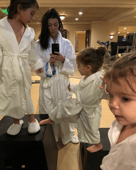 In the briefing, Kardashian explained that she became very interested in what's actually in skin care products after her kids, Mason, Penelope, and Reign were born.