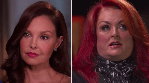 Ashley Judd and Wynonna Judd are sisters: