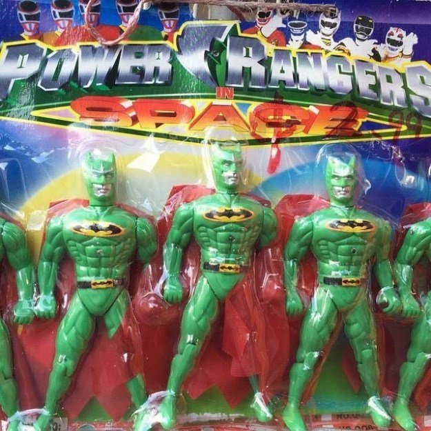 And personally, we'd be very willing to give the (green!) Power Ranger Batman a shot...