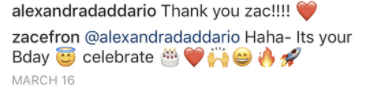 ...and he followed up with a truly beautiful string of emojis!