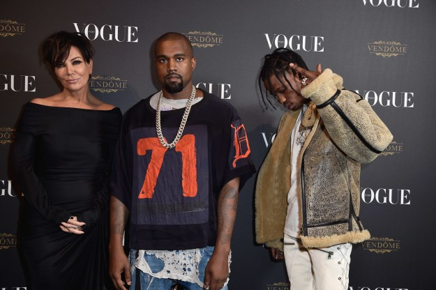 So when reports began circulating yesterday that Kris Jenner had taken on two new clients in the shape of Kylie Jenner's boyfriend Travis Scott, and Kim Kardashian's husband Kanye West, people had a lot of opinions.