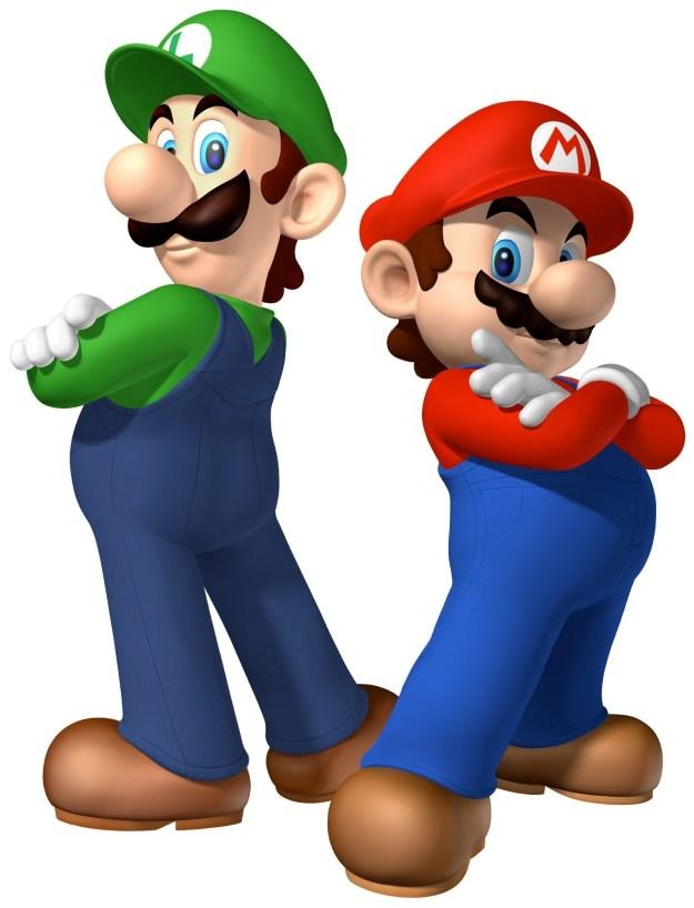 Yous guys know Mario and Luigi obviously.