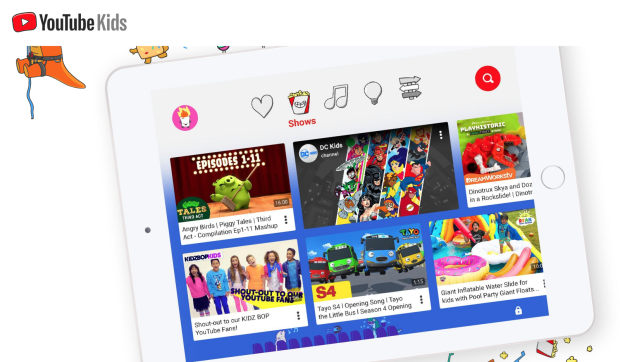 youtube kids version sans algorithme