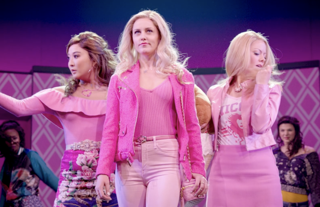 """There's still a part about """"explaining Regina George,"""" but no $10,000 commercials in Japan or punching in the face."""