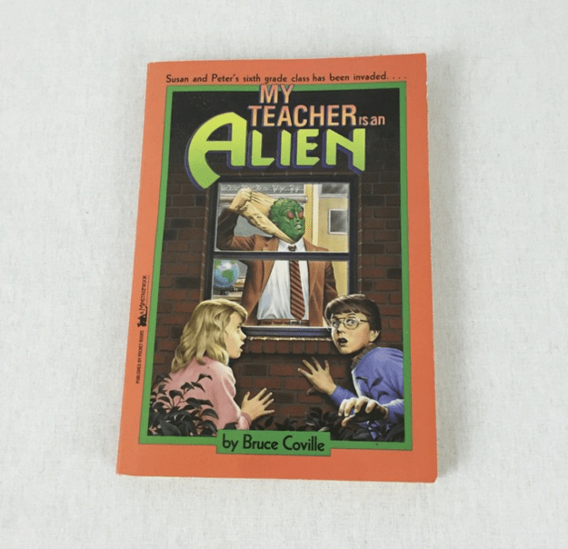 My Teacher is an Alien by Bruce Coville.