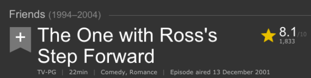 ...but the IMDB page on this one says otherwise:
