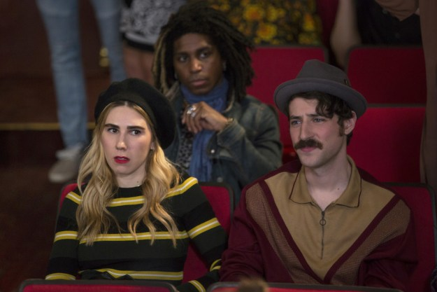 Zosia Mamet returns to the series in Episode 5 as hipster Sue Thompsteen, who ends up getting involved in one of Jacqueline and Lillian's scams this season.