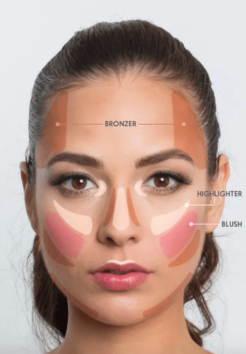 Check out more for how to make your makeup look better than ever before!Still confused? It's ok! Use this contour kit ($28.99 on Amazon) that literally comes with face maps and detailed guides (and videos through their website) for how to master this beauty trend one step at a time.And if you're feeling confident but don't want to spend a lot of money (duh), try this E.L.F. contour palette for $6 on Amazon.