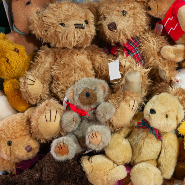 """""""I brought my stuffed animals to keep me safe in case my husband couldn't.""""—2319cvarela"""