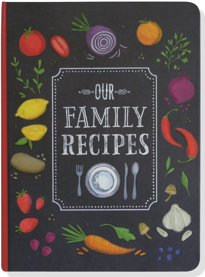 """""""HOW DO I CHOP ONIONS?!"""" This book allows you to record the recipe, the source, and why it holds special meaning for your family! It includes recipe pages for appetizers, soups, salads, sandwiches; side dishes, main courses, desserts, beverages; and more. It even has measurement equivalents, substitution suggestions, kitchen tips, and a glossary of cooking terms! AND there's an inside back cover pocket for extra notes and other mementos.Promising review: """"My mother had one similar to this that she worked on the whole time I was growing up. She filled it with recipes that our family used often and loved. She always told me that she filled it with the intention of giving it to me when I got married. She passed away before she was able to do that so I got the book early. Now that I'm married with a family of my own, I have been adding to her book and it is now mostly full. About a year ago, I started looking for another one to add to the collection and of all the ones I looked at, this one seemed to be the best. I am so happy that I ordered it! It's sturdy and I liked the info and back pocket (to store my jotted down recipes until I have time to transfer into the book). Now I can continue my Mama's legacy."""" —Layla ManningGet it from Amazon for $11.33 or a similar style from Walmart for $5.99."""