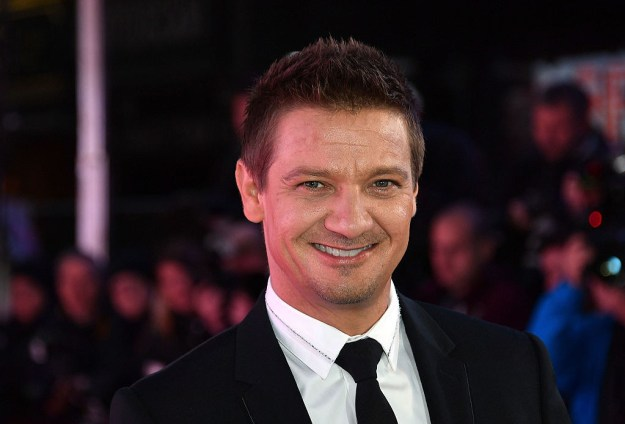 Jeremy Renner was a makeup artist.