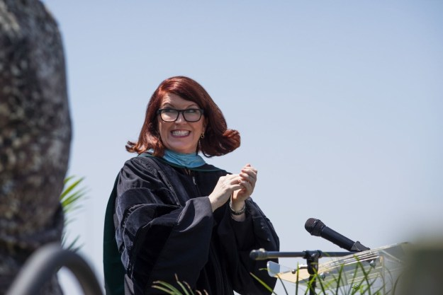 The show stars Kate Flannery — who we all know and love for playing Meredith on The Office — as the school principal.