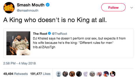 And so did Smash Mouth.