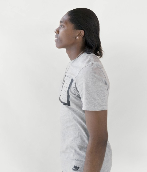 Caster Semenya — middle-distance runner, 800-meter-event world champion, and two-time Olympic gold medallist