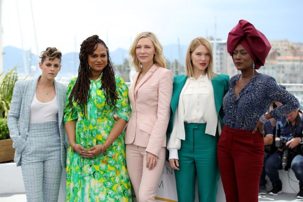 In addition to Stewart and Blanchett, the Cannes jury members this year include director Ava DuVernay, actor Léa Seydoux, musician Khadja Nin (all pictured below), as well as actor Chang Chen, and directors Robert Guédiguian, Denis Villeneuve, and Andrey Zvyagintsev.