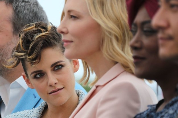 But we're here today to focus on Kristen Stewart and Cate Blanchett's interactions, because they are clearly starring in their own version of Carol 2 and nothing else matters to me anymore.