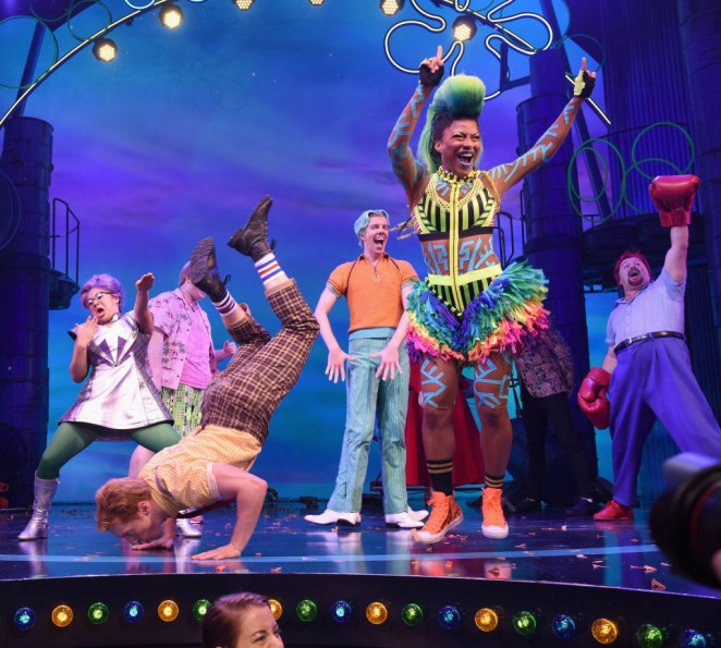 The show garnered 12 nominations overall, including Best Musical, Best Original Score, and Best Leading Actor in a Musical (Ethan Slater, aka SpongeBob).