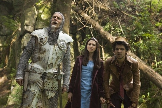 """A modern twist on Alice in Wonderland, where a woman tries to take down a corrupt organisation which is harvesting peoples' emotions.""""The special effects are a little wack, but it's a great twist on Lewis Carroll's original stories. Plus it has Caterina Scorsone, Andrew Lee Potts, Matt Frewer, Kathy Bates and Tim Curry."""" – laceynchippedWatch it on: Amazon"""
