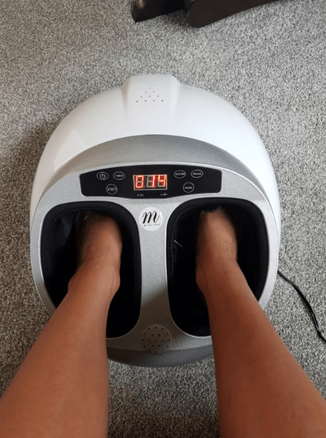"""""""I work in a lab where I'm on my feet for 8-10 hours a day, and this is the only thing that's helped with the foot aches and swelling. It also helps with swollen feet after flying. It's about as expensive as one deep tissue massage, but I can use it whenever and for however long I want. It has several massage patterns and you can alter the time, intensity, and heat to however you want."""" —alliek4405851daGet it on Amazon for $79.99."""
