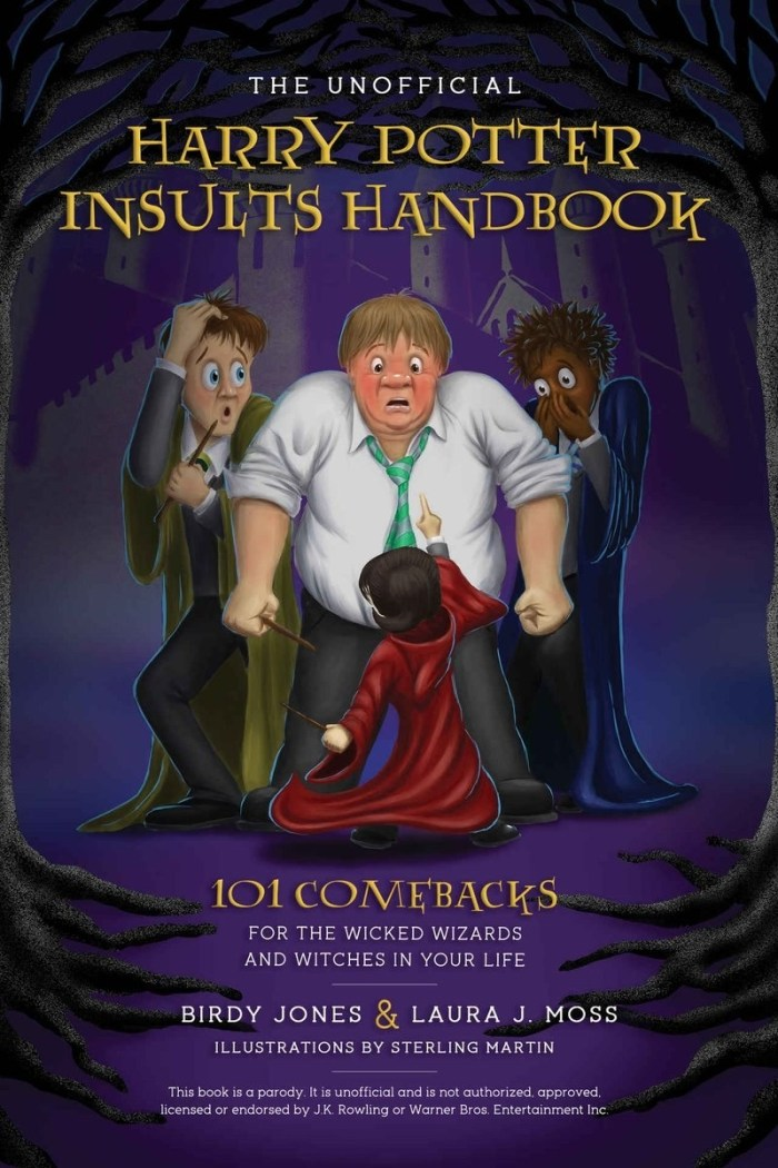libro de insultos de Harry Potter