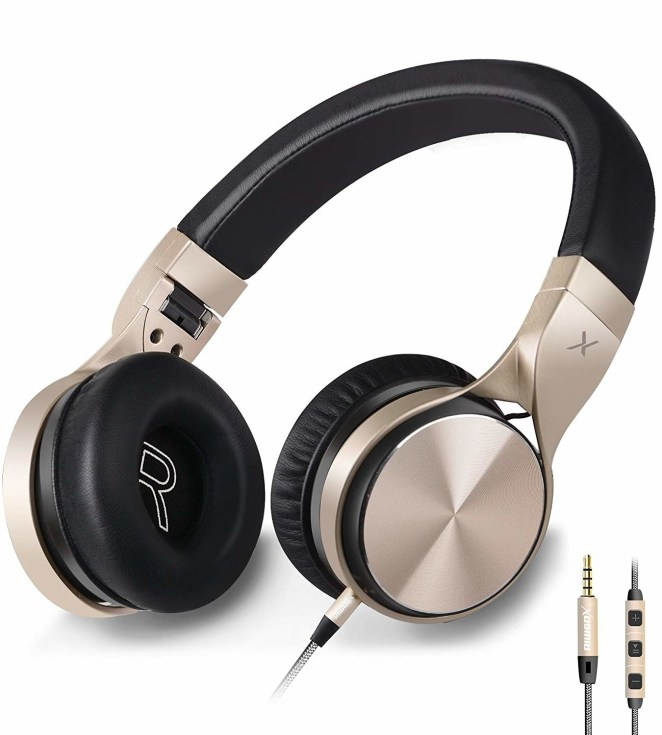 """Get them from Amazon for $19.98 (available in four colors).Promising review: """"I absolutely love these headphones. They are very comfortable and lightweight! They connect easily to Bluetooth and sound amazing. No interference just pure beautiful sound with a fair amount of bass, even from my phone. I would highly recommend these as they are an excellent price too!"""" —spencer"""